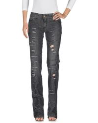 John Galliano | Denim Trousers | Lyst