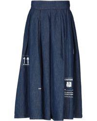 Department 5 - Denim Skirt - Lyst