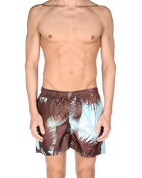 Fifteen & Half - Swim Trunks - Lyst