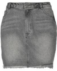 Obey - Denim Skirt - Lyst
