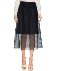 5preview - 3/4 Length Skirt - Lyst