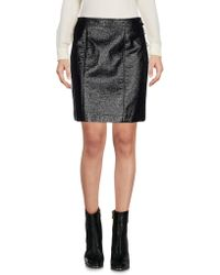 Marc By Marc Jacobs - Faux Leather Miniskirt - Lyst