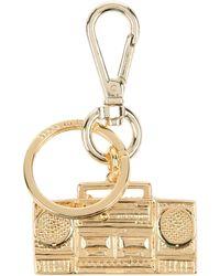 Moschino - Key Ring - Lyst