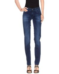 S.o.s By Orza Studio | Denim Trousers | Lyst