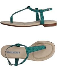 Luciano Padovan - Toe Strap Sandal - Lyst