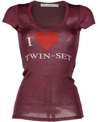 Twin Set - T-shirts - Lyst