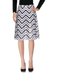 Fontana Couture - Knee Length Skirt - Lyst