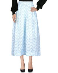 Delpozo - 3/4-length Trousers - Lyst
