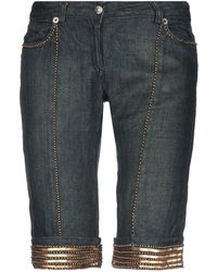 John Richmond - Denim Bermudas - Lyst