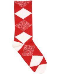 Burberry - Short Socks - Lyst
