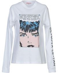 Olympia Le-Tan - T-shirt - Lyst