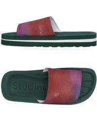 Acne Studios - Slippers - Lyst