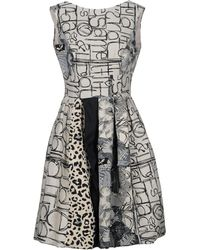 Io Couture - Knee-length Dresses - Lyst