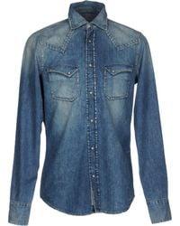Pence - Denim Shirt - Lyst