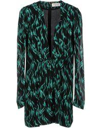 Saint Laurent - Short Dress - Lyst