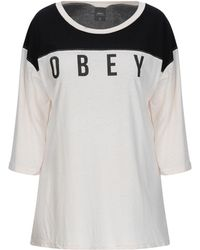 Obey T-shirt - Natural