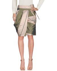 Albino - Knee Length Skirt - Lyst