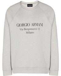Giorgio Armani - Sweatshirt - Lyst