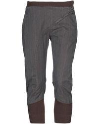 I Malloni - 3/4-length Trousers - Lyst