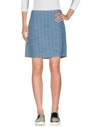 Fairly - Denim Skirt - Lyst