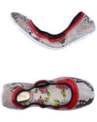 Car Shoe - Ballet Flats - Lyst