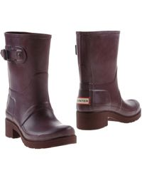 HUNTER - Ankle Boots - Lyst