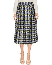 Emma & Gaia - 3/4 Length Skirt - Lyst