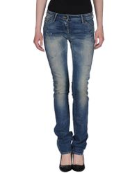 Miss Sixty - Denim Pants - Lyst