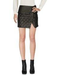 Balmain - Mini Skirt - Lyst