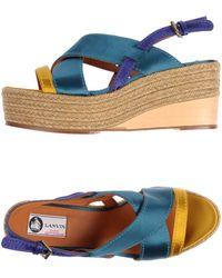 Lanvin - Sandals - Lyst