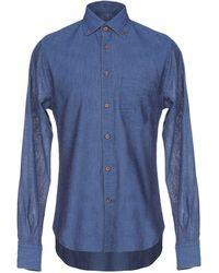 Ermanno Scervino - Denim Shirt - Lyst