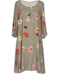 Camicettasnob - Short Dress - Lyst