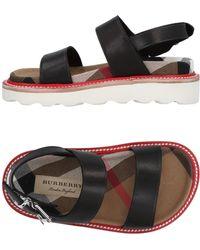 Burberry - Sandals - Lyst