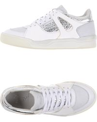 a6ad3cbf3a8 On sale Alexander McQueen X Puma - Move Suede and Leather Low-Top Sneakers  - Lyst