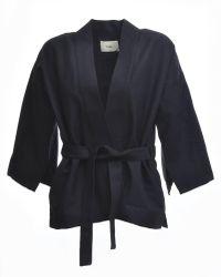 Folk - Kimono Jacket In Black - Lyst