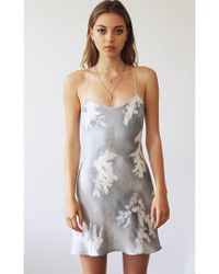Florence Bridge - Sissy Bias Silk Slip Dress - Lyst