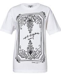 J.won - Alexa Coe Illustrative T-shirt - Lyst