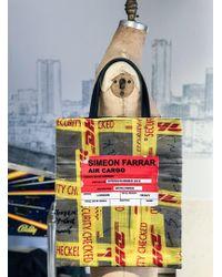 Simeon Farrar - Velvet Dhl Tote Bag - Lyst