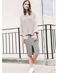 Kelly Love - Coming Up Roses Linen Knit - Last One - Lyst