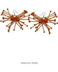 Kirsty Ward - Orange Cluster Earrings- Sold Out - Lyst