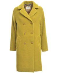 Folk - Cavi Virgin Wool Coat - Lyst
