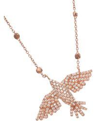 Maha Lozi - Jetsetter Bird Necklace - Lyst