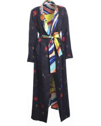 Klements - Long Silk Carrie Coat - Lyst