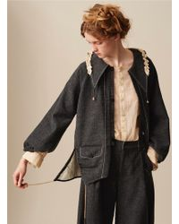 Renli Su - Artisan Crafted Wool Jacket - Lyst