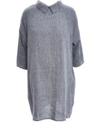 Lemuel MC - Softened Linen Reversible Dress - Lyst