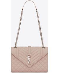 Saint Laurent - Monogram Envelope Bag - Lyst