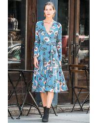 Yumi Kim - Around Town Midi Jersey Dress - Lyst