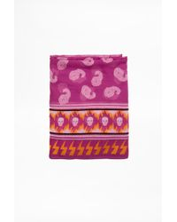 Zadig & Voltaire - Bindi Paisley Scarf - Lyst