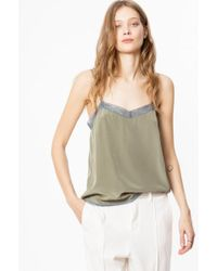 Zadig & Voltaire - Camel Camisole - Lyst