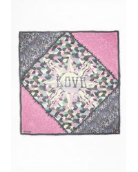 Zadig & Voltaire - Kerry Patchwork Scarf - Lyst